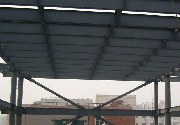 襄陽鋼結構安裝現場