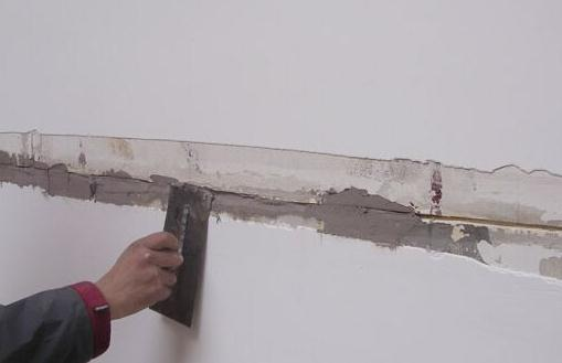 襄阳墙体裂缝处理