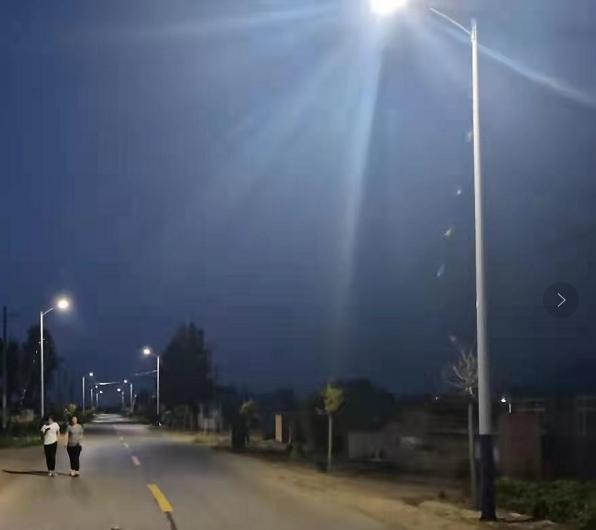 西影路照明工程竣工