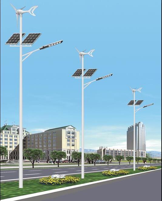 新款风电互补路灯