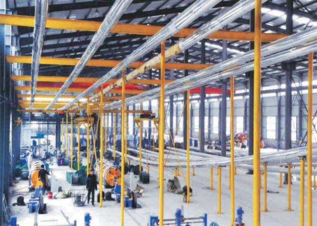 线缆生产设备展示