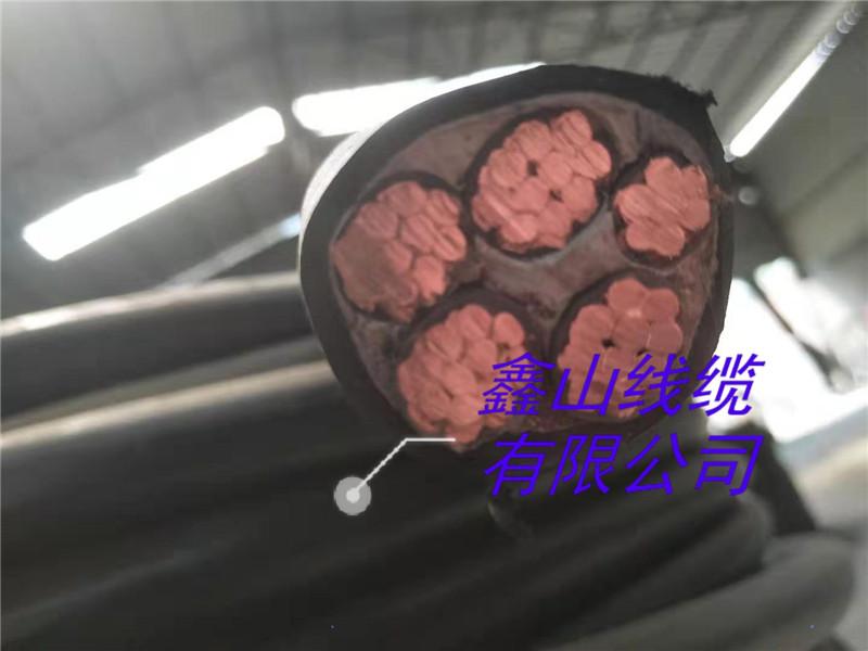 低压电力电缆 0.6/1KV  YJV 4*10+1*6