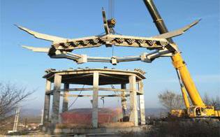 钢冶炼厂绳锯切割