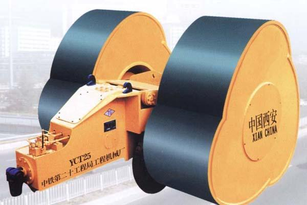 YCT25型沖擊壓路機