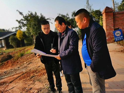 绵阳市游仙高新技术产业园区管委会领导来园调研