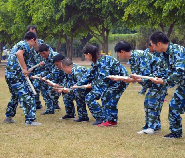 襄阳劳务外包部门野外拓展活动