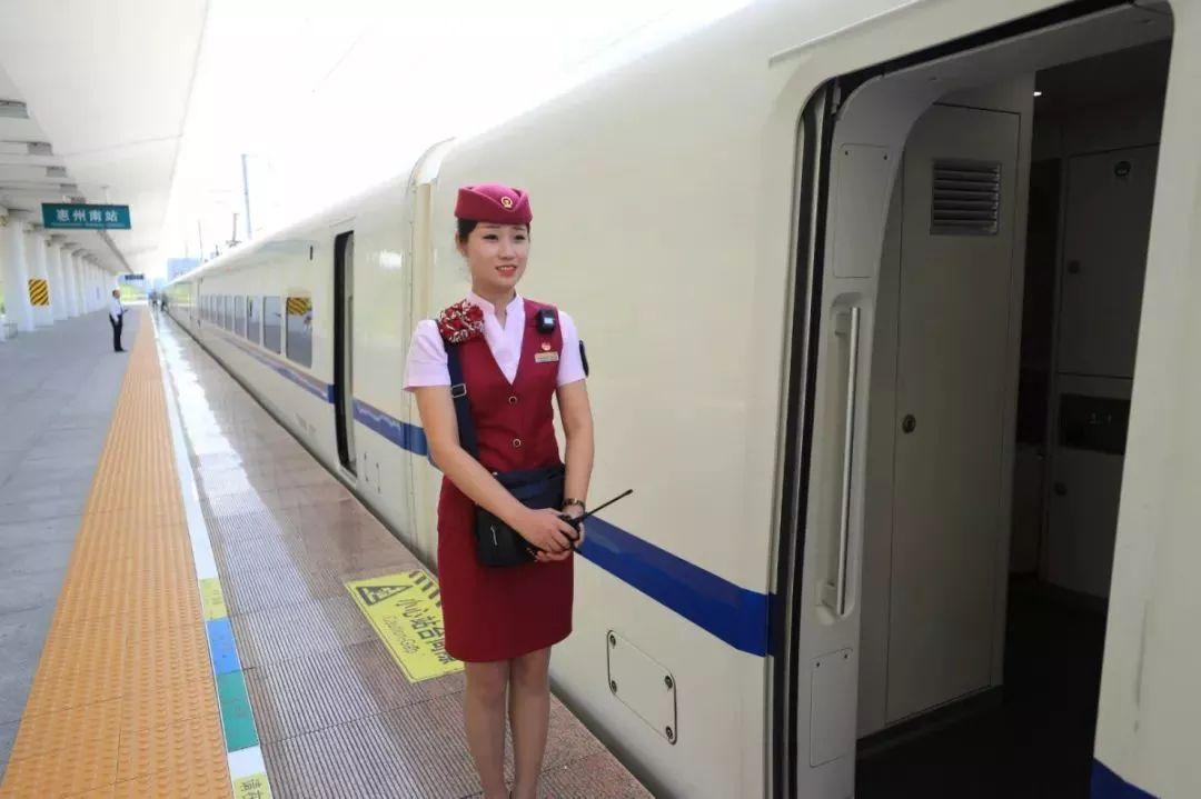 南昌高铁动车商务座VIP乘务员