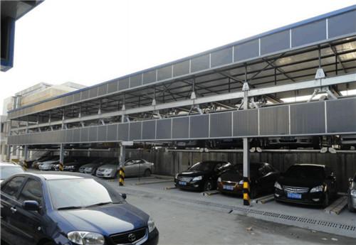 三层升降横移机械停车设备