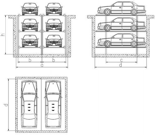 西安机械停车设备安装