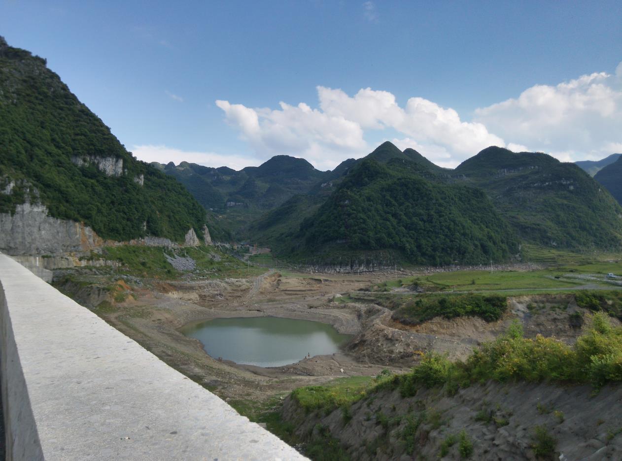 贵州纳雍县金蟾水库