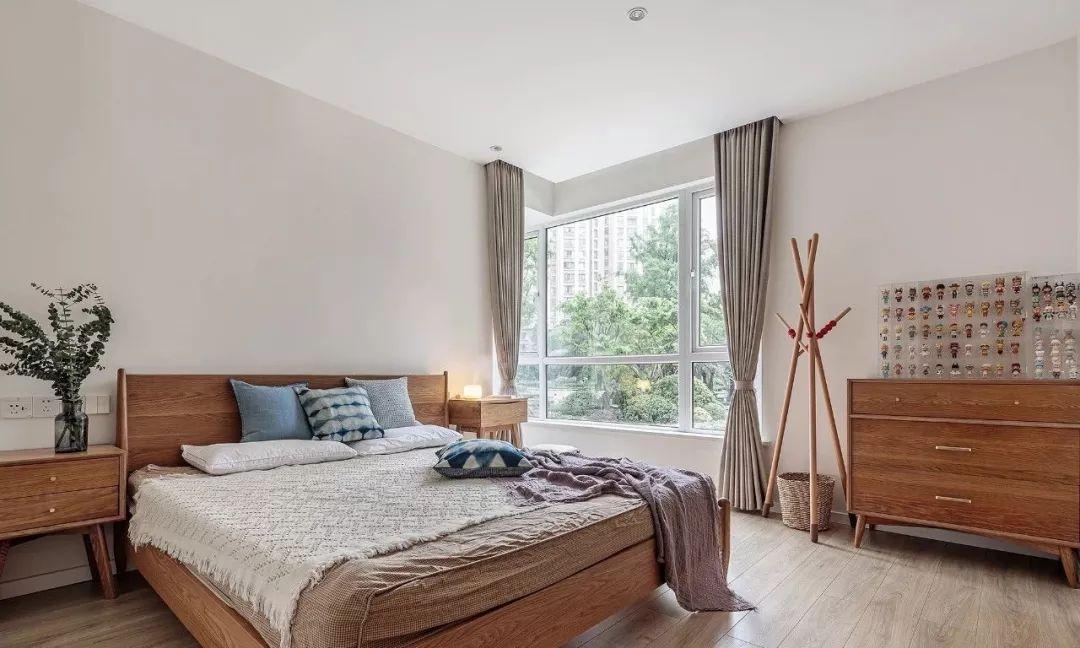 102m2温润木色日式三居,闲适静谧、温柔舒畅,感受生活中淡淡的美好~