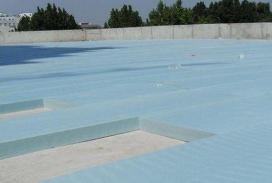 遂宁安居区小学屋面阻燃挤塑板工程