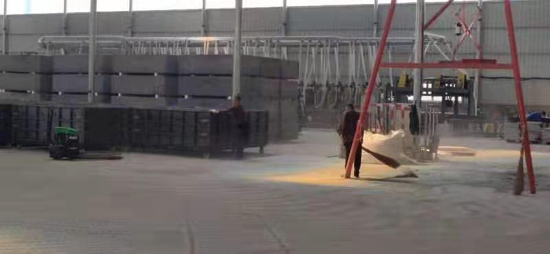 成都岩棉板应用于山西邮政大厦车库项目