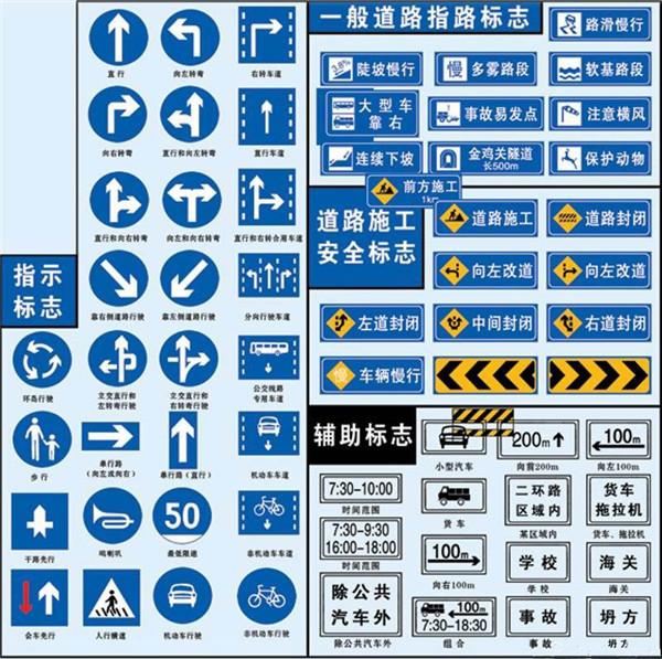 交通标识系列-导示标识