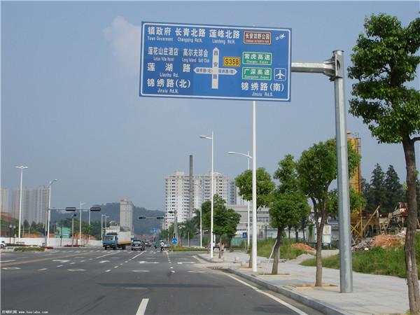 西安道路指示牌工程很不错!