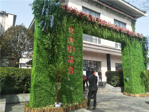 陕西绿植墙景观