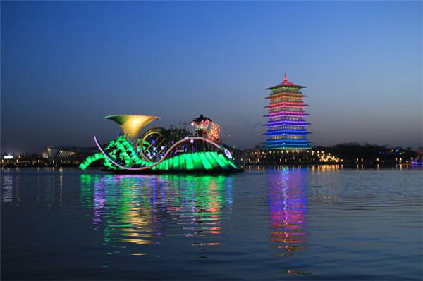 西安LED夜景亮化