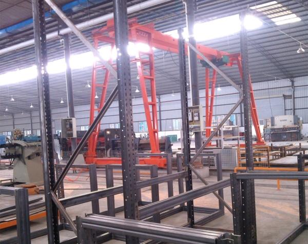 成都隔板貨架公司工廠展示