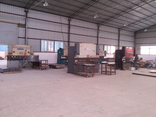 四川橫梁式貨架工廠展示