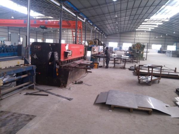 成都貨架公司工廠展示