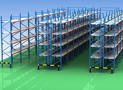 电子商务企业如何规划隔板货架呢?成都隔板货架厂家具体的详解
