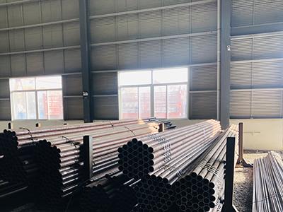 四川45无缝钢管公司厂房展示