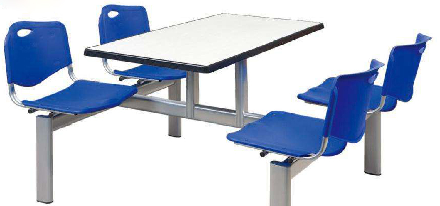 塑钢餐桌椅