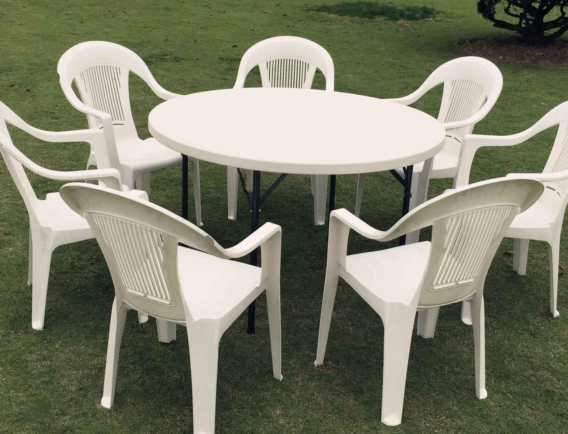 塑料餐桌椅