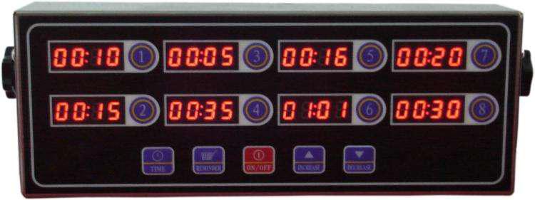 厨房用具制作-八段计时器