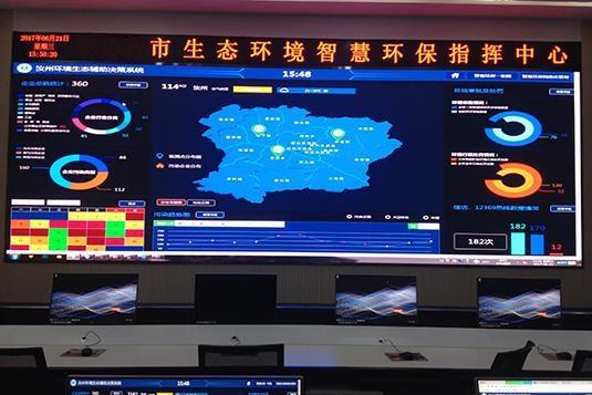 四川某市生态环境智慧平台