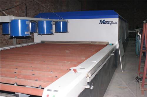 西安钢化玻璃生产线