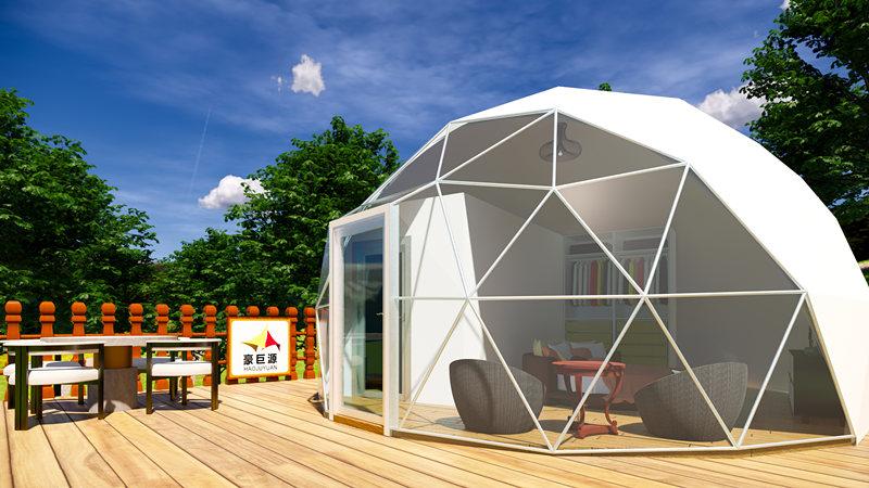 豪巨源6米球型帐篷