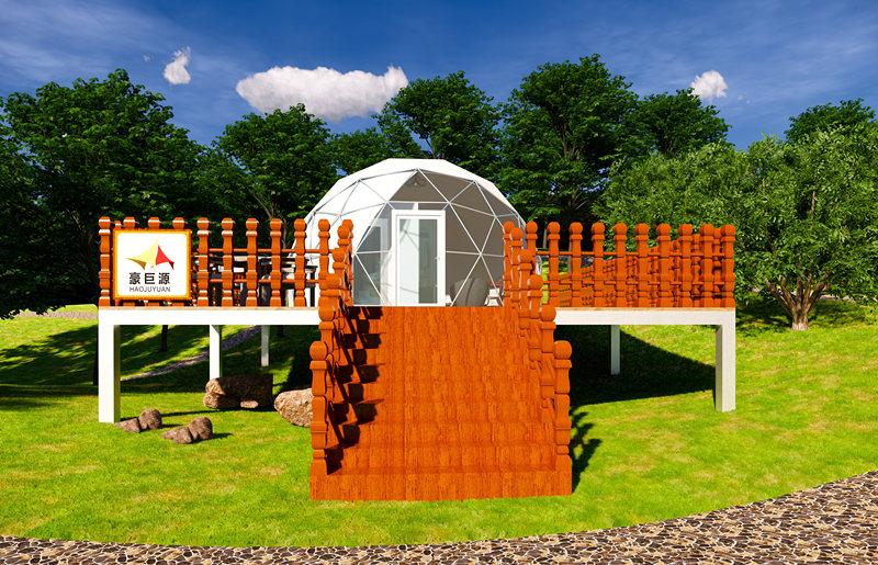 西安豪巨源球型帐篷