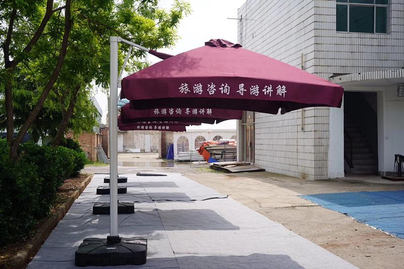 西安兵马俑液压伞