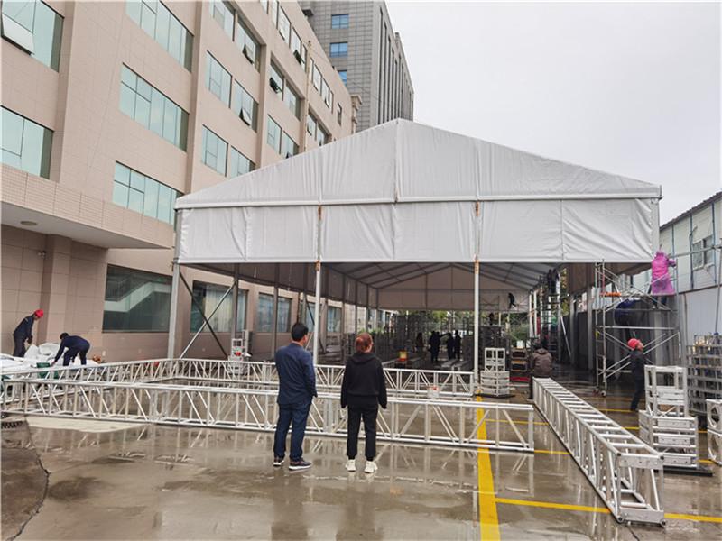 2021年10月锦业路酒店后院宴会厅部置