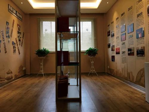 上海驻西安办事处荣誉展厅