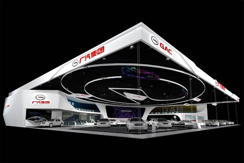 广州汽车展台西安展台设计搭建