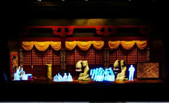 幻影成像西安展厅设计