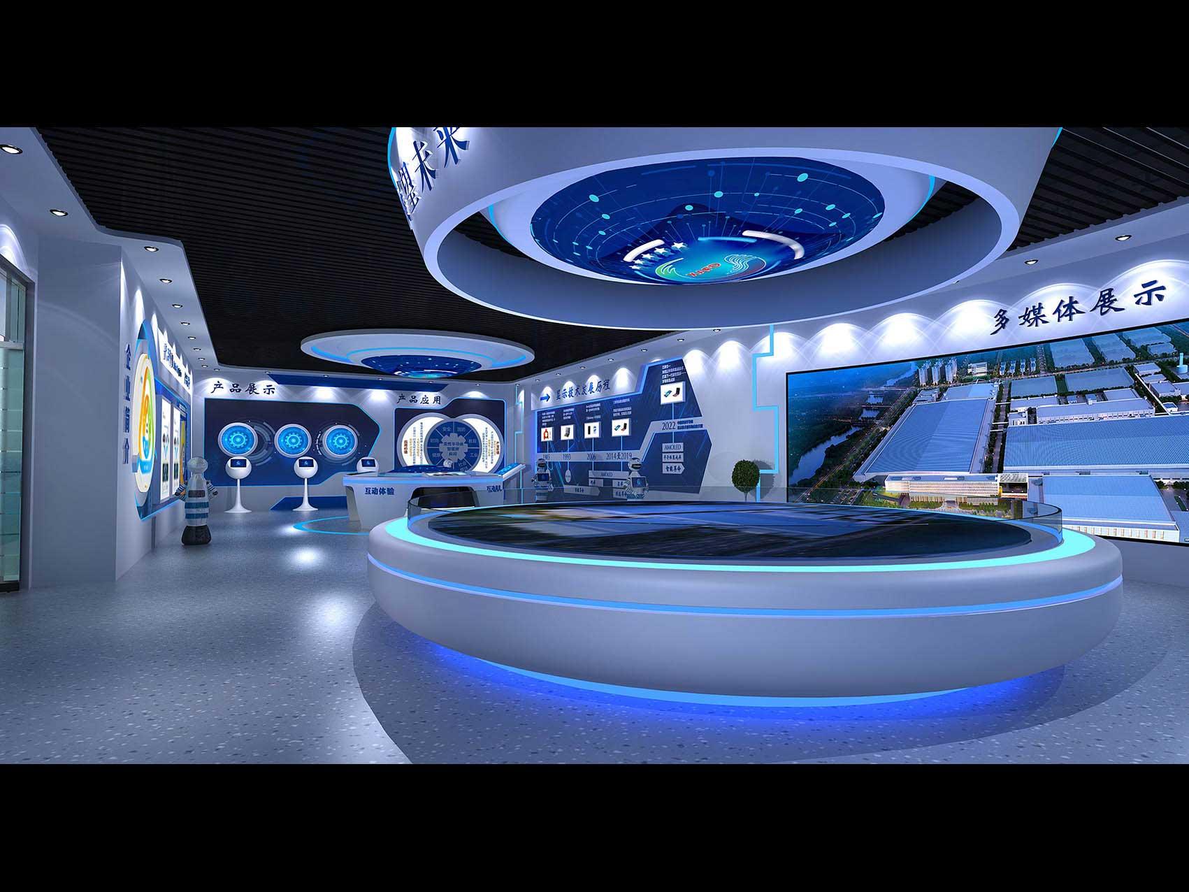 科技展厅3D模型