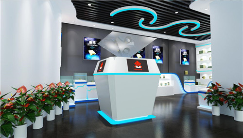 西安必盛科技展厅设计