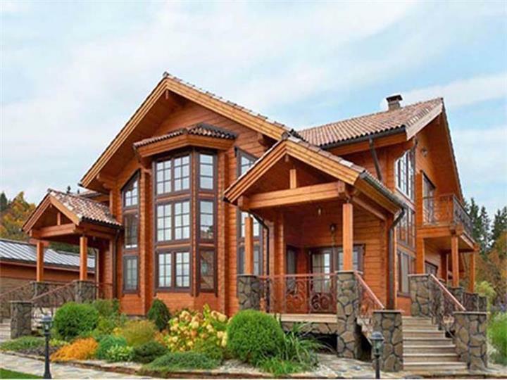 内蒙古木屋