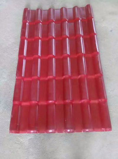 包头树脂瓦厂家(中国红)