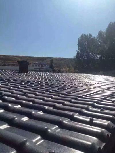 防腐蚀合成屋顶树脂瓦 (古城灰)