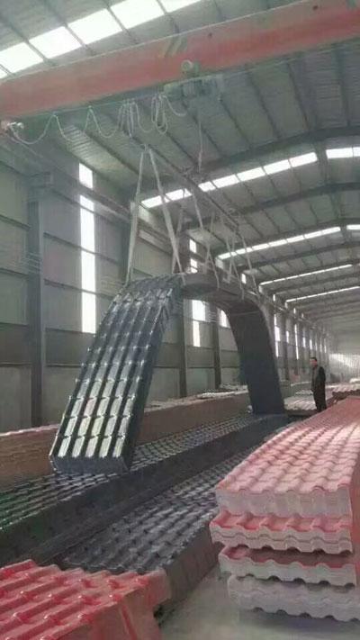 包头奥喆建材公司车间一角