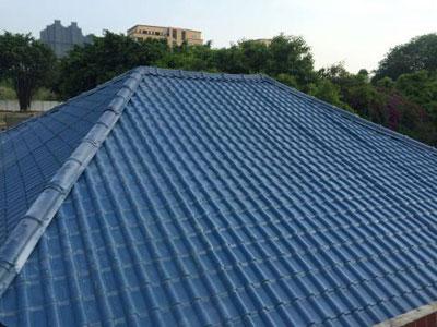 包头合成树脂瓦适合哪些屋面?