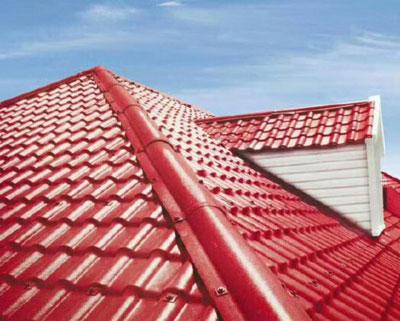 耐高温防腐 合成树脂瓦 中国红树脂瓦