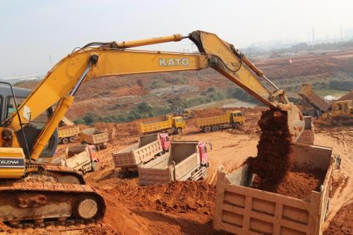 成都土石方运输成功案例
