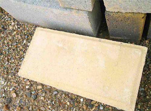信阳环保砖厂家施工案例