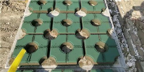信阳井字植草砖怎么样避免空鼓现象呢?