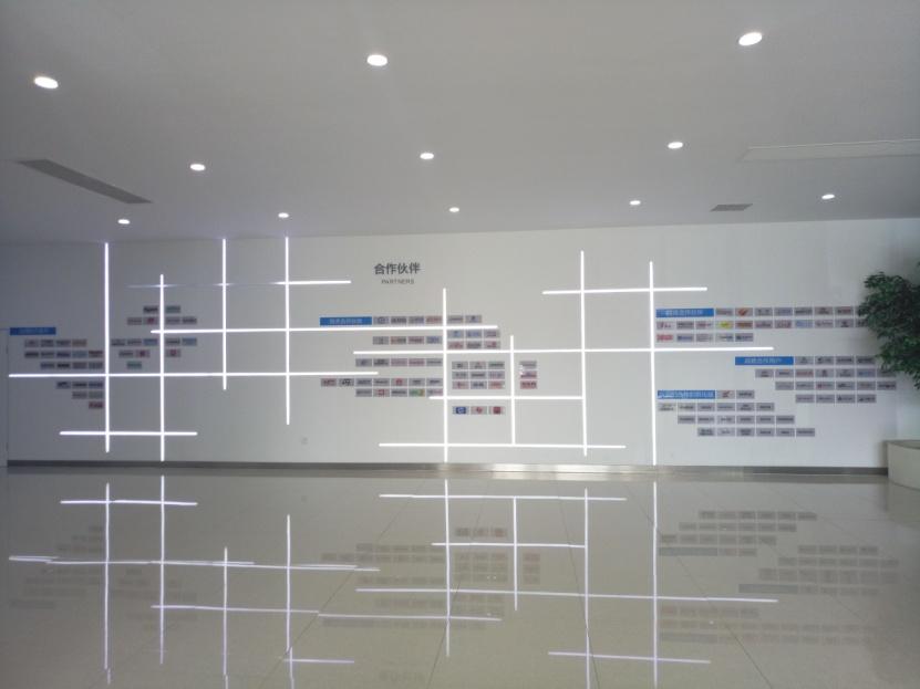 瑞昇昌科技合作伙伴展示墙